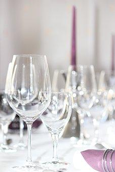 Gedeckter Table, Table, Covered, Celebration
