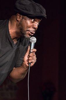 Comedian, Face, Performance, Comic, Portrait, Headshot