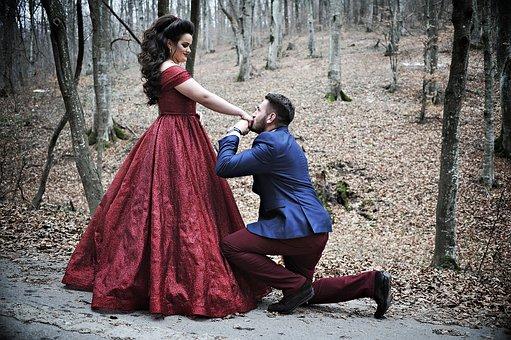 Proposing, Engagement, Couple, Love, Romance, Romantic