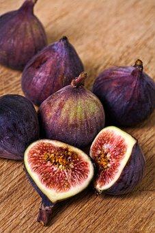 Fresh, Figs, Food, Fruit, Organic, Ripe, Tasty