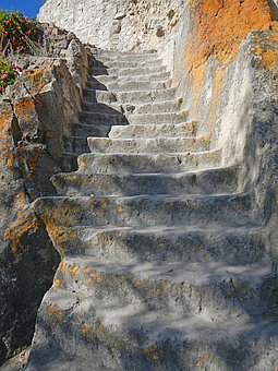 Stone Steps, Staircase, Andes, Inca, Architecture