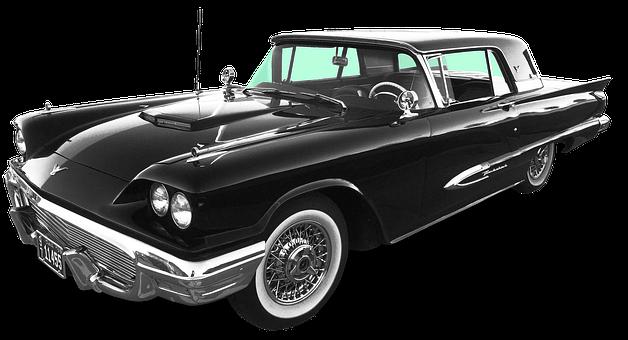 Usa, Thunderbird, Classic, Ford Thunderbird, America