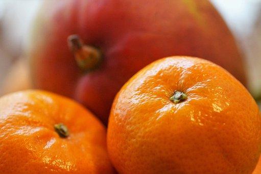 Tangerine, Fruit, Southern, Citrus, Fetus, Orange