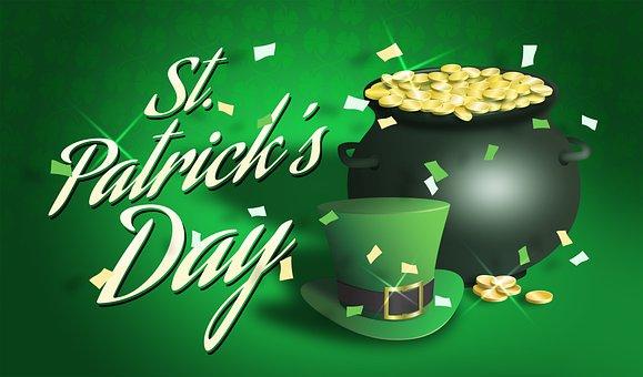 St Patrick's Day, Saint Patricks Day, Pot Of Gold