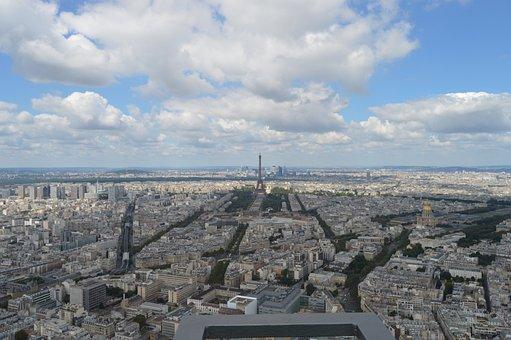 Skyline, Paris, Panoramic