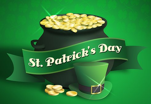 St Patrick's Day, Saint Patricks Day, Pot Of Gold