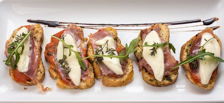 Bruschetta, Starters, Food, Cheese, Appetizer, Gourmet