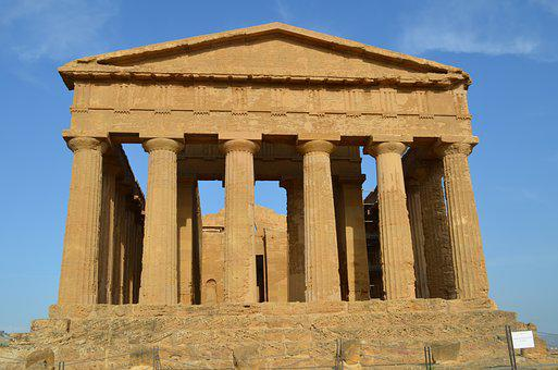 Sicialia, Italy, Agrigento, Temples, Archaeology