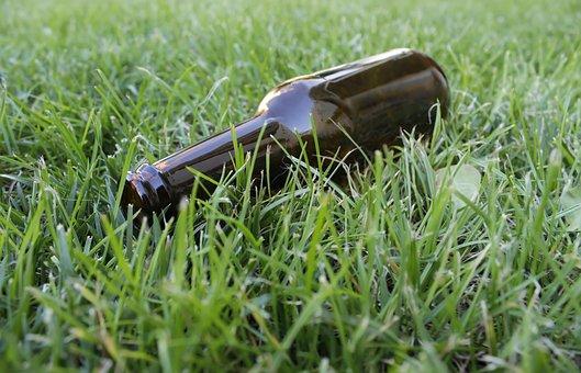 Beer, Bottle, Label, Cap, Brown, Refreshment, Cool