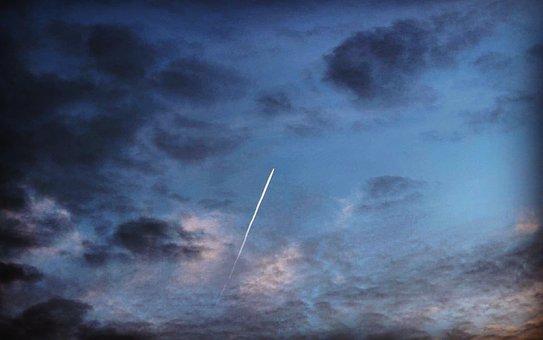 Cloud, Aircraft, Aircraft Flight, Plane View, Blue, Air