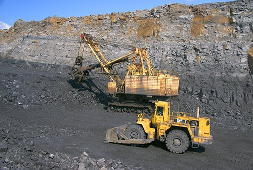 Coal Mining, Coal, Gigantic Proportions, Work, Industry