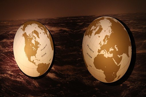 Map, World, International, Continents, Globe, Global
