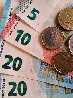 Euro, Money, Dollar Bill, Currency, Banknote, Specie