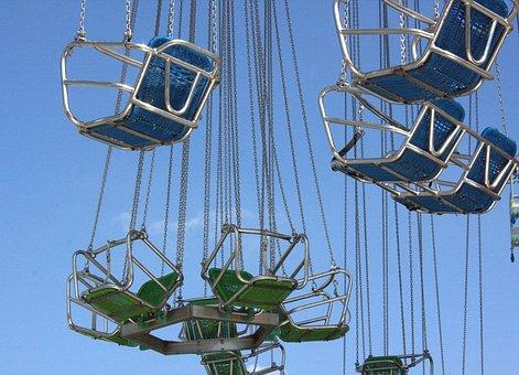 Carousel, Kettenkarussel, Year Market, Folk Festival
