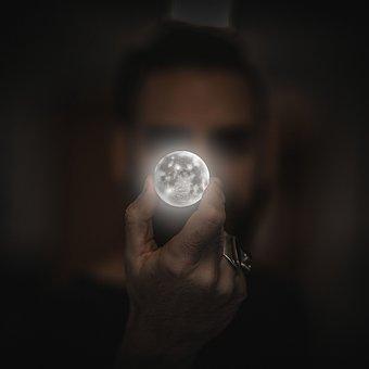 Moon, Planet, Celestial Body, Solar System, Full Moon