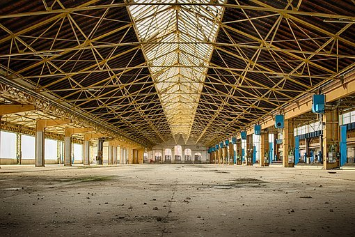 Lost Places, Factory, Leave, Industrial Building