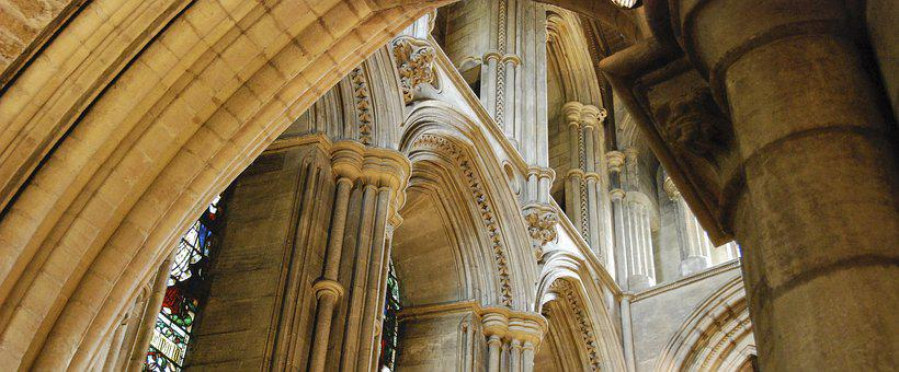 Church, Stonework, Masonry, Arches, Ancient