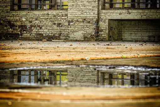 Mirroring, Water, Lost Places, Reflections
