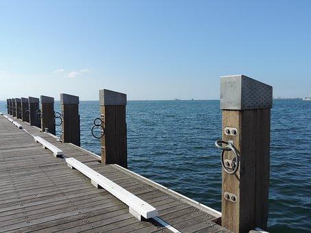 Pillar, Pier, Ocean, Nautical, Wharf, Port, Marine