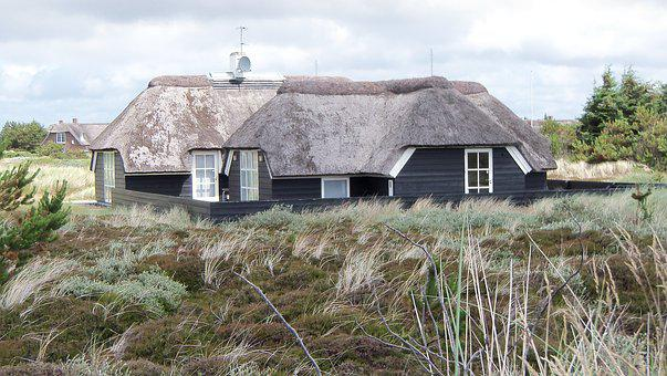 Denmark, Reed Thatched, Home