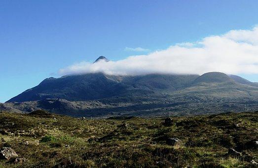 Scotland, Scottish, Isle Of Skye, Cuillin, Scenic