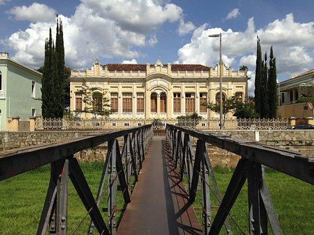 Mansion, Minas, Brazil, Old City, Old, Rock, History