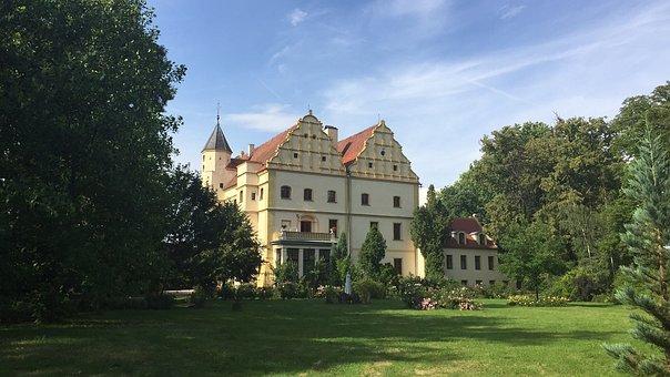 Castle, Czerna, Landscape