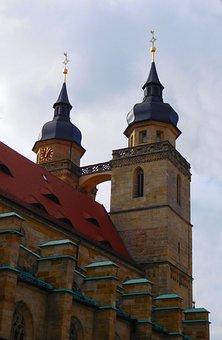 Church, Church Steeples, Towers, City Church, Faith