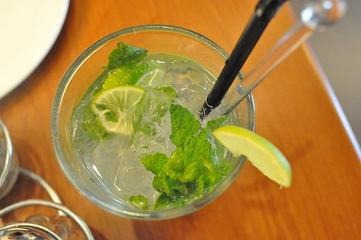 Green Apple Mojito, Food, Drink, Lime, Refreshment