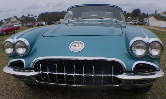 Corvette, Stingray, Vette, Smiling Car, Fast, Car