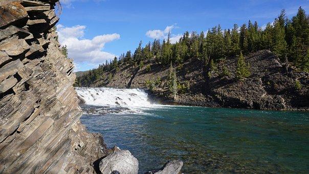 Nature, Canada, Banff, Water, Landscape, Travel, Summer