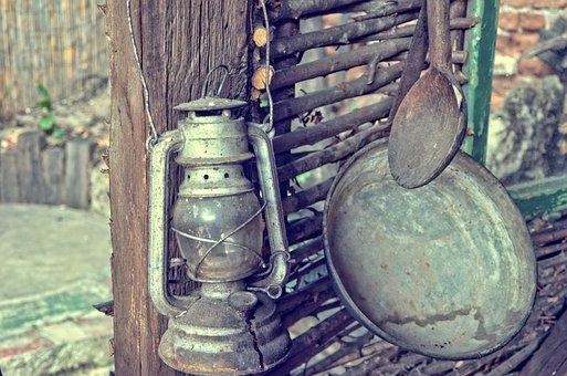 Lantern, Vintage, Light, Decoration, Design, Retro