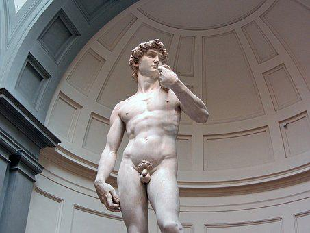 David, Miguel Angel, Florence, Museum, Sculpture, Italy
