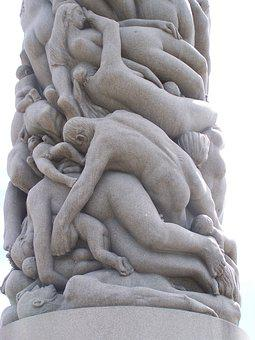 Oslo, Norway, Sculpture, Vigeland Park