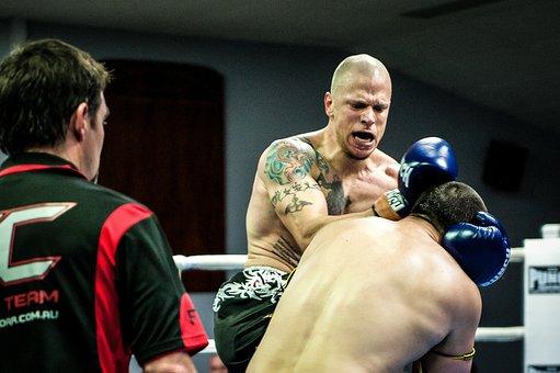 Muay Thai, Fight, Combat, Boxing, Kickboxing, Sport