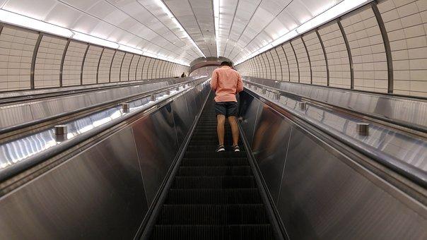 Nyc, Underground, Modern, Station, Urban, Tube