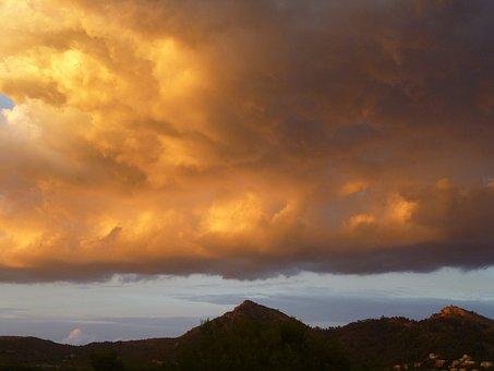 Clouds, Mood, Landscape, Atmosphere, Sunset