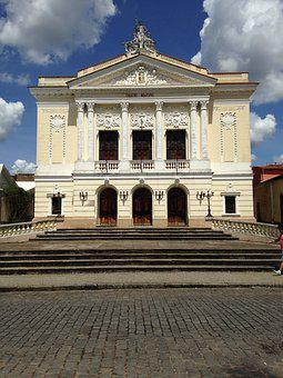 Theatre, Minas, Brazil, Old City, Old, Rock, History