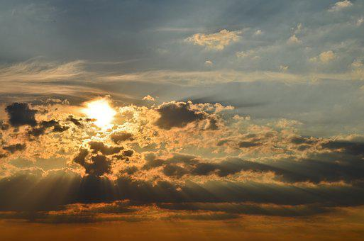 Sunrise, Dusk, Sunset, Sky, Landscape, Travel, Nature