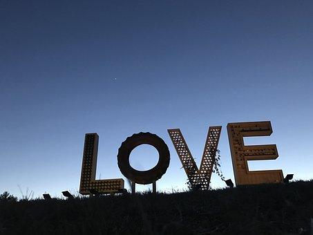 Airlie Center, Love, Sign, Virginia, Twilight, Symbol