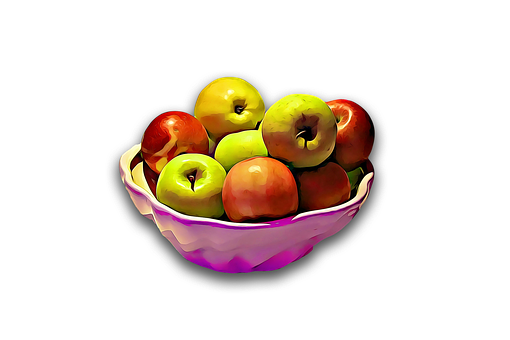 Apple, Apples, Fruit, Health, Digital, Graphics, Food