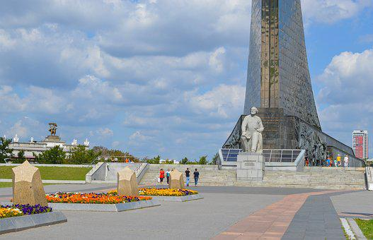 Tsiolkovsky, Conquerors Of Space Monument