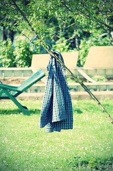Garden, Shirt, Liège, Cozy, Relax, Break, Out