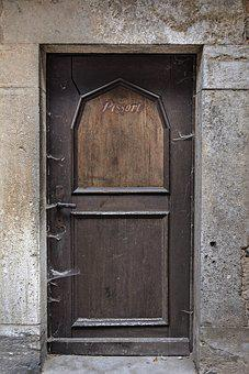 Door, Gate, Input, Old Door, Wood, House Entrance, Old