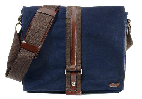 Bag, Fabric, Blue, Man, Blue Canvas