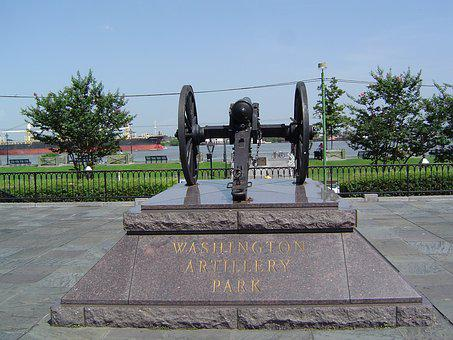 Cannon, Stature, Monument, New Orleans