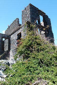 Ruin, Home, Break Up, Dilapidated, Building, Old