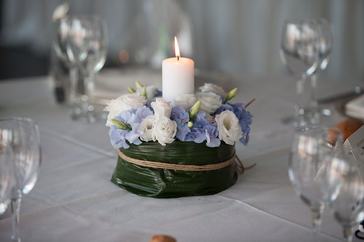 Candle, Table, Ornament, Wax