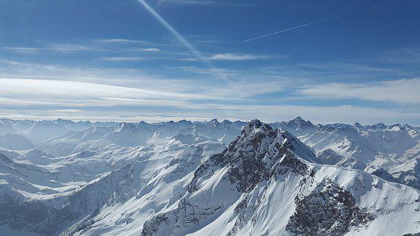 Rough Horn, Alpine, Tannheimer Mountains, Mountain