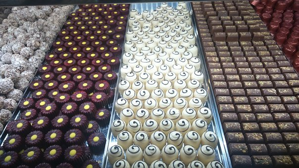 Chocolates, Milk Chocolate, White Chocolate, Truffles